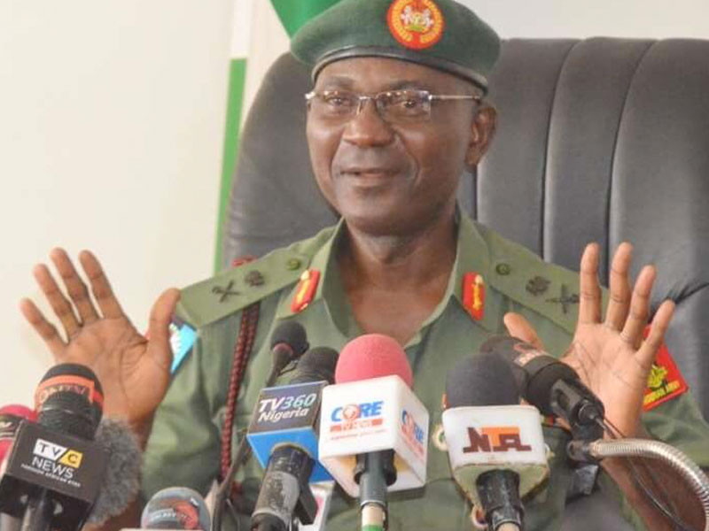 Defence Spokesperson, John Eneche outlines ways civilians sabotage military operations against Boko Haram in the North-East (video)
