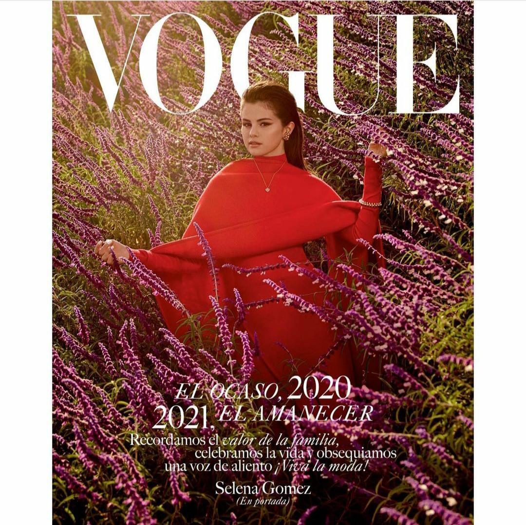 Selena Gomez shares photos from her Vogue Mexico shoot as ...