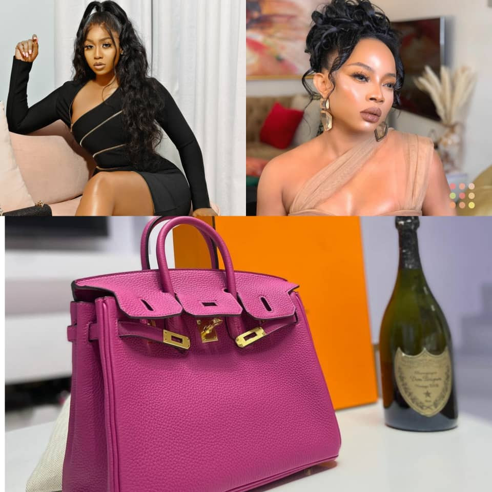 """If a bag is what they want, let them buy it"" Toke Makinwa says hours after actress Lilian Afegbai was bashed online for spending $22k on a Birkin bag"