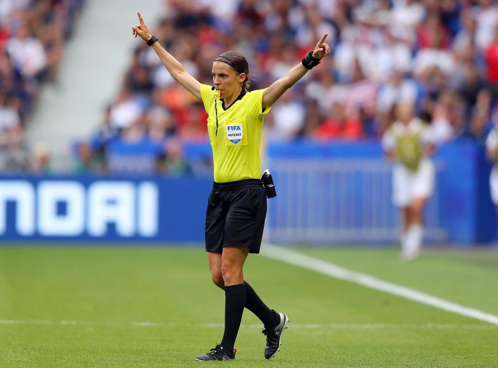 Stephanie Frappart set to make history as the first female referee to take charge of a men