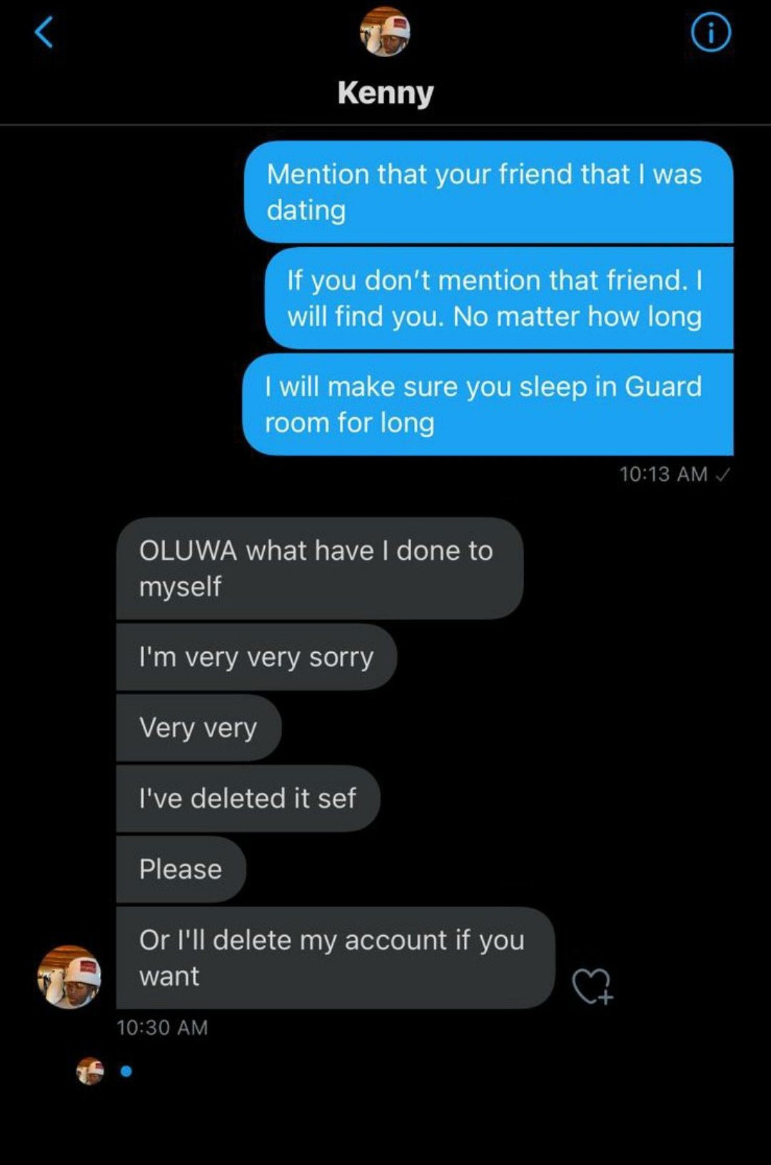 Twitter user exposed after he tried to destroy a newly-engaged couple