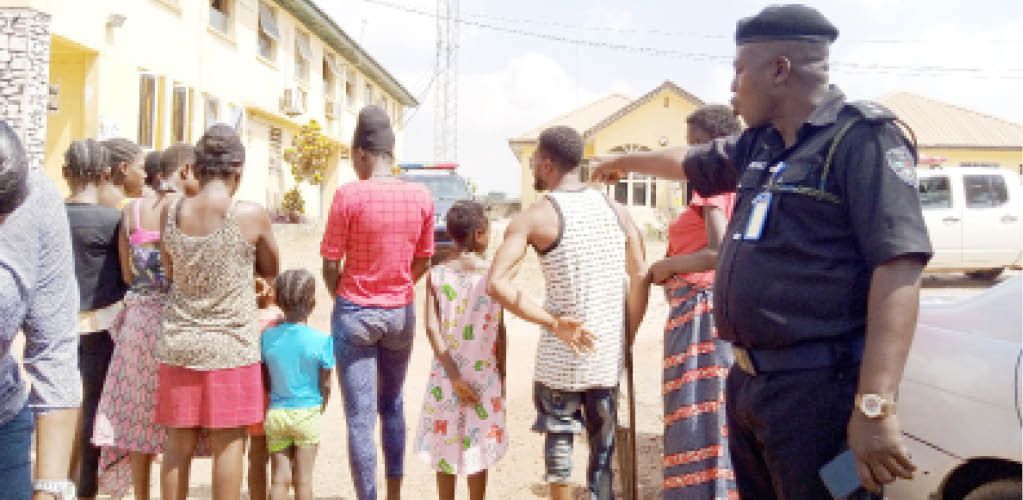 10 pregnant girls and kids rescued from Ogun baby factory