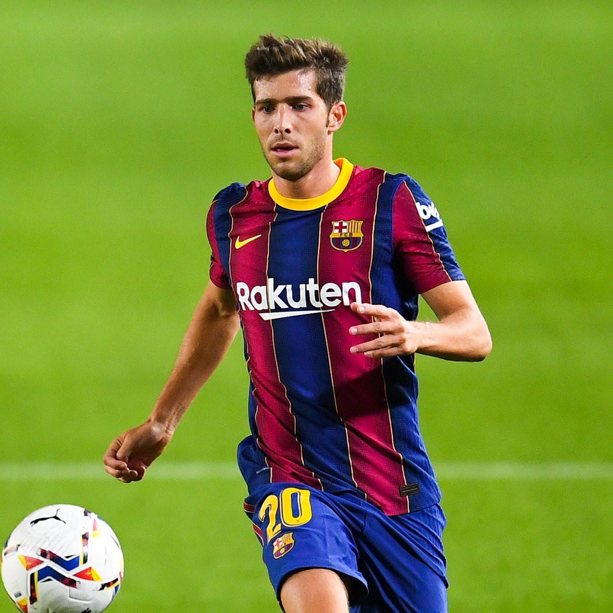 Barcelona defender, Sergi Roberto tests positive for coronavirus