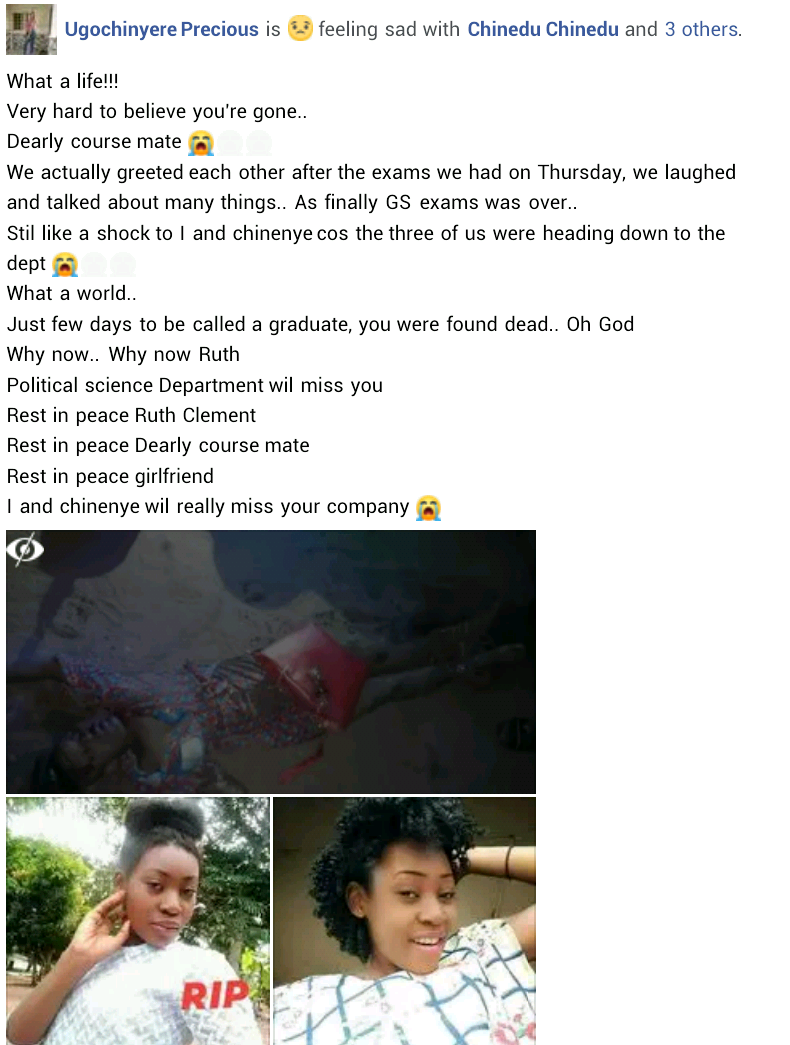 Final year female student