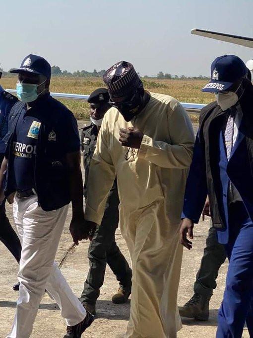 Pension Fraud, Abdulrasheed Maina extradited to Nigeria from Niger Republic*