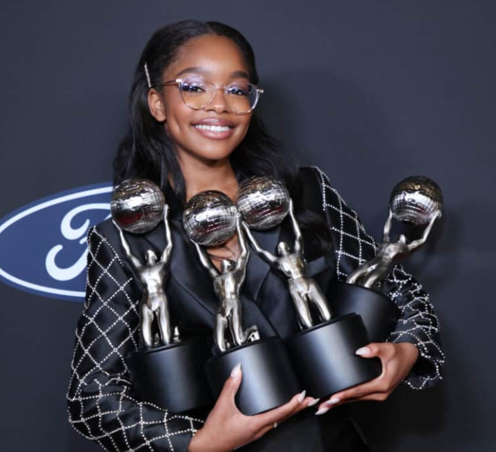 Marsai Martin breaks the Guinness World Record for youngest Hollywood Executive Producer