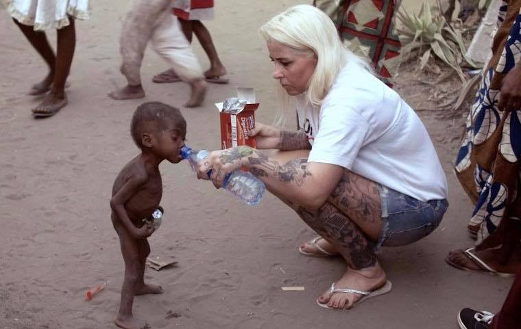 """""""One called me an old hawk"""" - Danish aid workers Anja Ringgren Loven calls out Nigerian women who attacked, age shamed her and threatened to kill her son"""