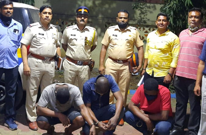 Three Nigerian men arrested in India with 220 grams of cocaine worth over $29,000