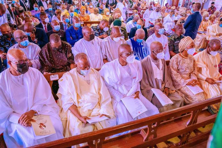 Photos from the funeral of Awolowo