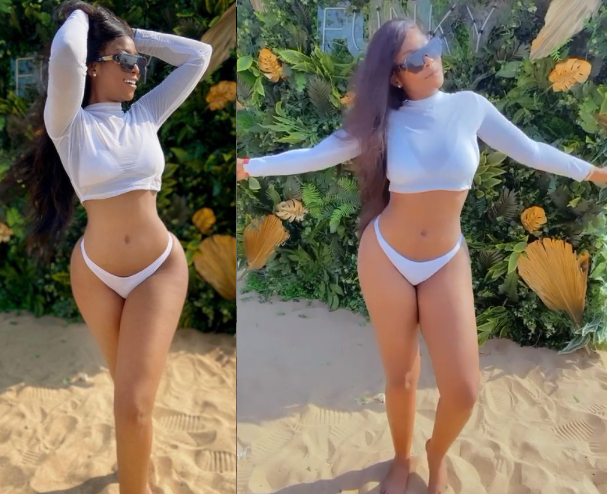 ?Lilian Afegbai flaunts her banging body in new photos