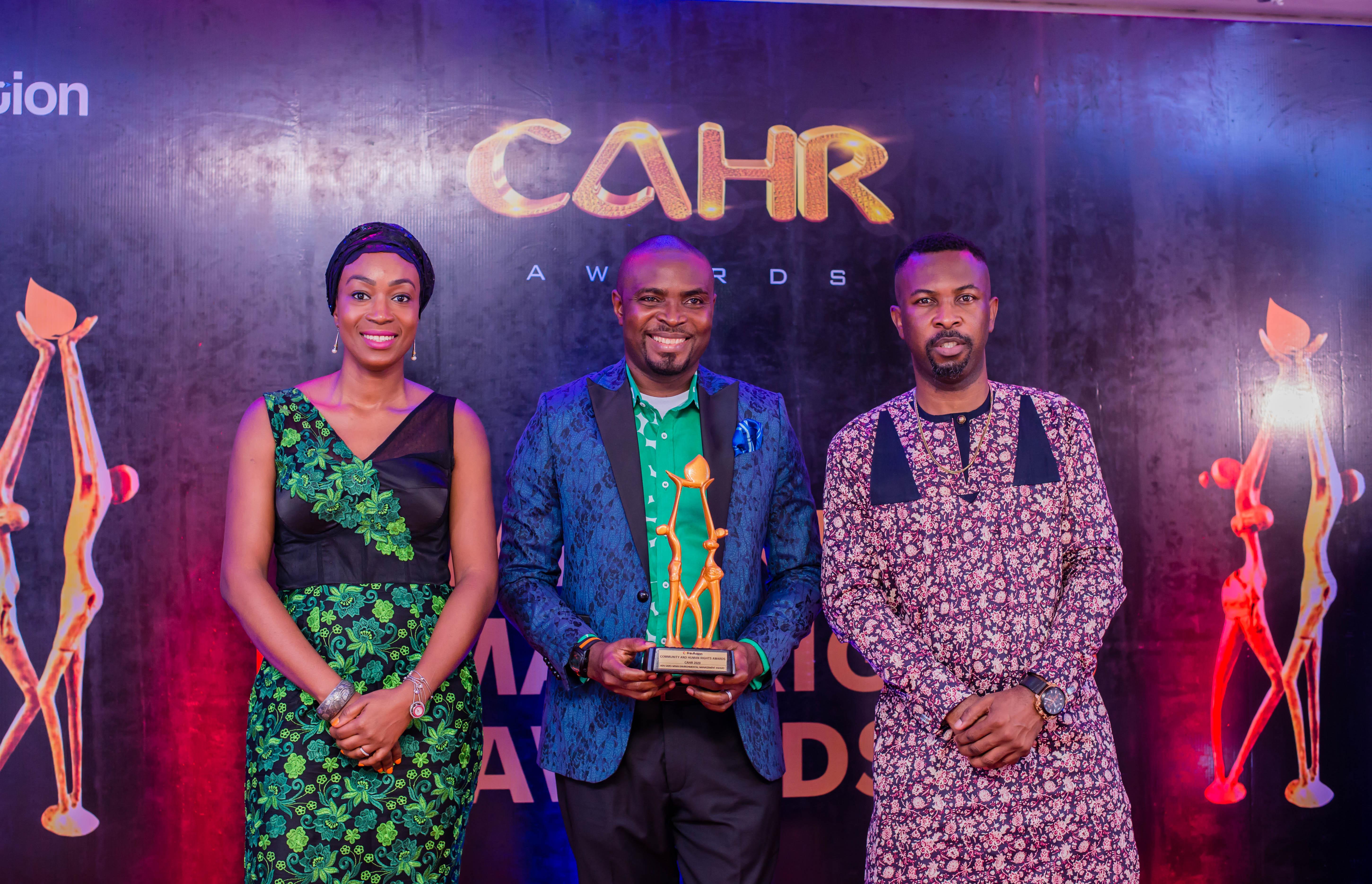 CAHR Awards Honours Okonjo-Iweala, Yesufu, SERAP, EWEI, Other Community and Human Rights Heroes