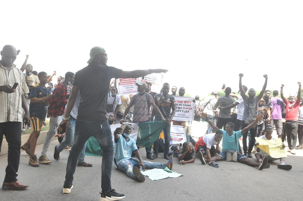 #EndSARS protesters hit Osogbo roads, storm House of Assembly