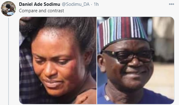 Domestic violence:  Nigerians react as Benue state governor reconciles Channels TV reporter and his wife