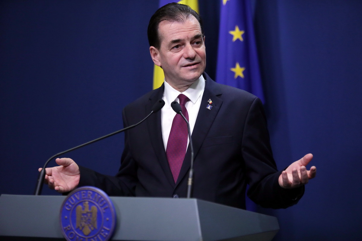 Romanian Prime Minister, Ludovic Orban resigns