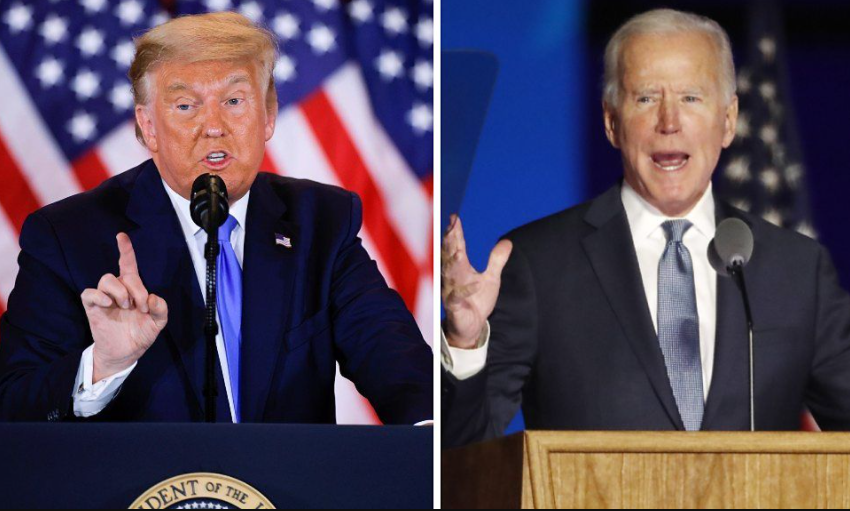 Donald Trump sues Joe Biden directly in bid to invalidate hundreds of thousands of votes in Wisconsin