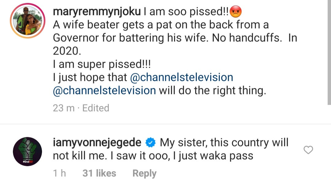 Domestic violence: This is disgusting- Toke Makinwa, Latasha Ngwube, Bolanle Olukanni, others condemn reconciliation between Channels TV and his wife