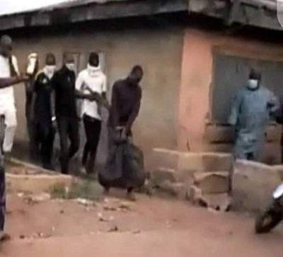 Ritualist den allegedly operated by siblings uncovered in Osun (photos)