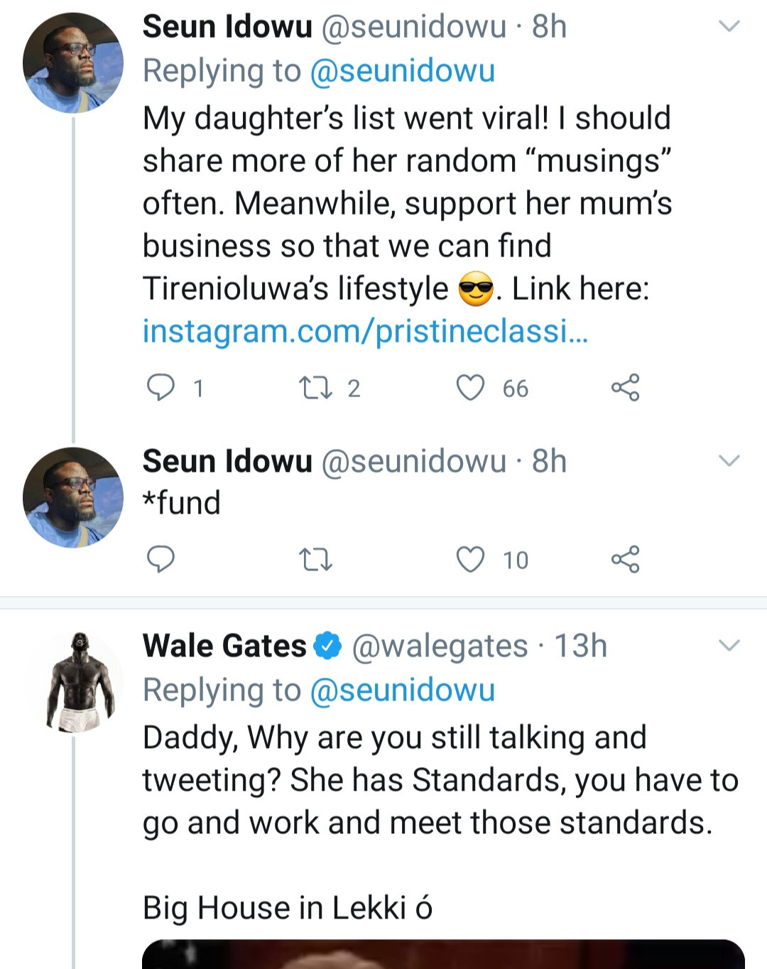 Nigerian father shares his daughter
