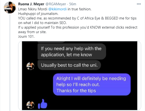 Every new day I win an award, Ruona loses it - Kiki Mordi reacts to being accused of