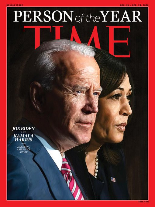 Time Magazine names Joe Biden and Kamala Harris