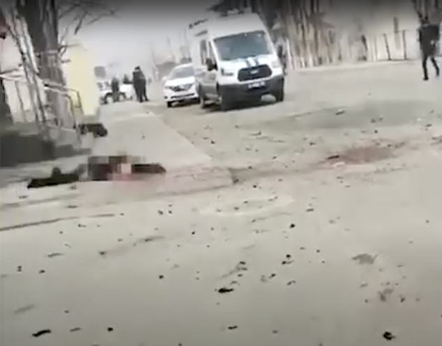 Suicide bomber blows himself up in FSS headquarters in Russia (photos)*