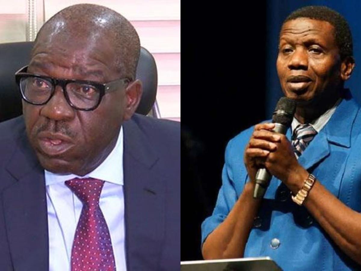 Pastor Adeboye assured me that I?ll be reelected - Governor Obaseki