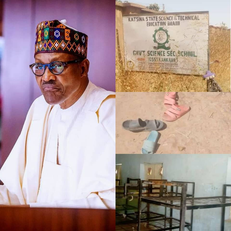 President Buhari strongly condemns attack on Katsina secondary school