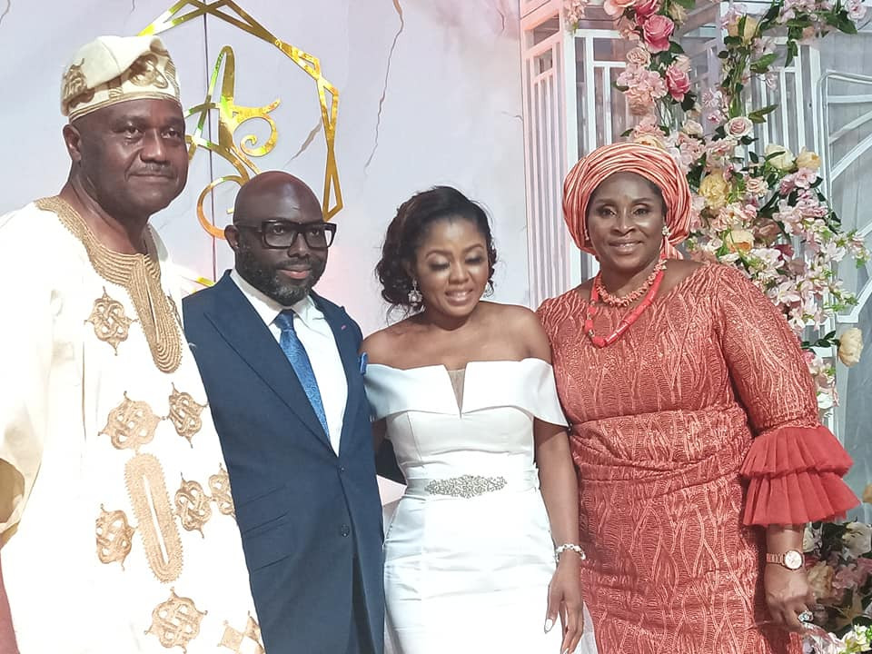Photos from Ex. President, Olusegun Obasanjo's son's Wedding*
