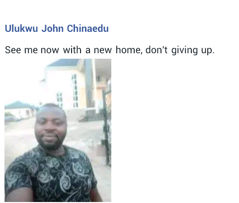 """""""See me now with a new house. Don"""