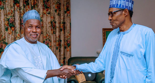 Presidency disagrees with Governor Masari on number of schoolboys abducted from Kastina school; says only 10 students were abducted