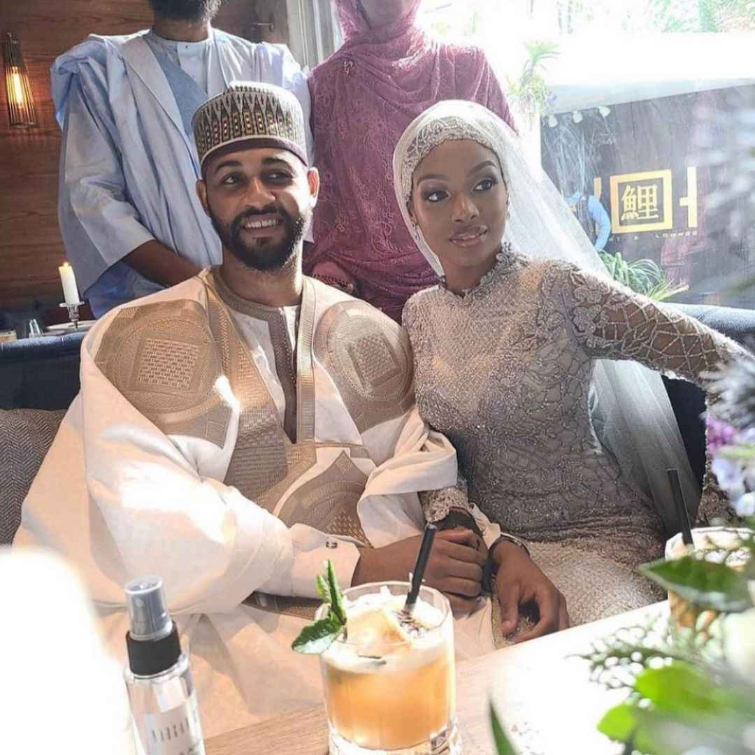 Aliko Dangote?s niece, Aziza Dangote, weds her groom, Aminu Waziri in elaborate ceremony attended by Dangote and other dignitaries (photos)