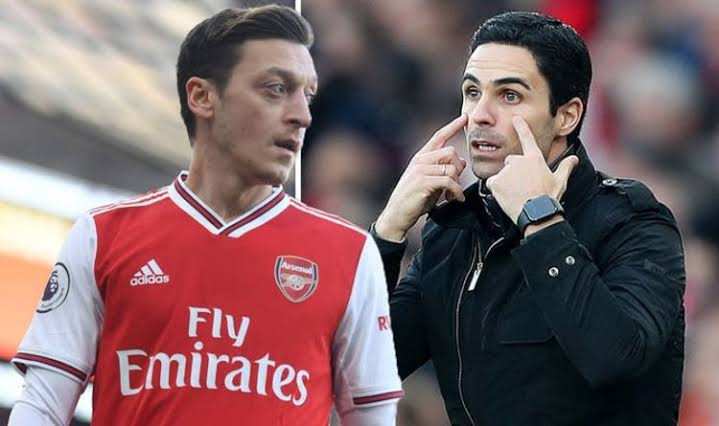 Mikel Arteta open to welcoming Mesut Ozil from exile after Arsenal fall to 15th on table