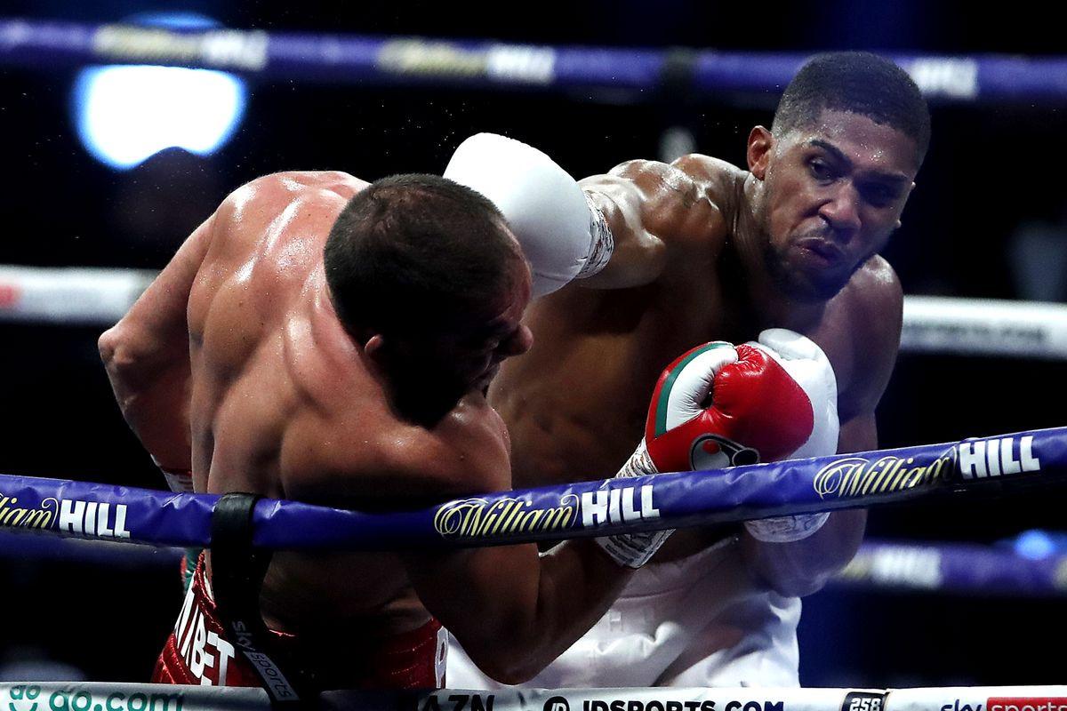 Anthony Joshua responds to Tyson Fury