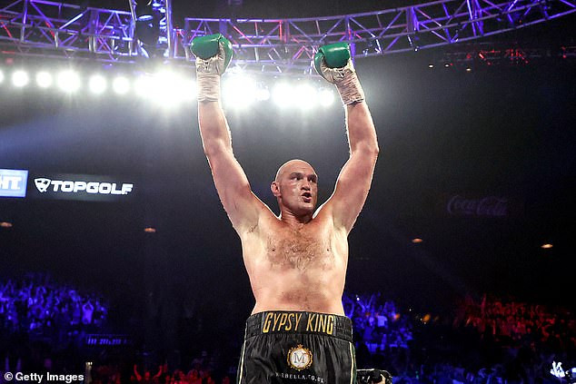 Revealed: Anthony Joshua and Tyson Fury to make ?100m each in
