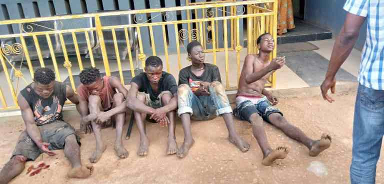 Suspected cultists intercepted with a dead body while on revenge mission in Ogun