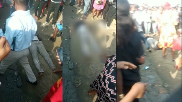 8 feared dead in stampede as Port Harcourt residents jostle for Christmas palliative (photos/video)