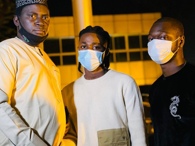 Omah Lay and Tems have been released from Ugandan prison