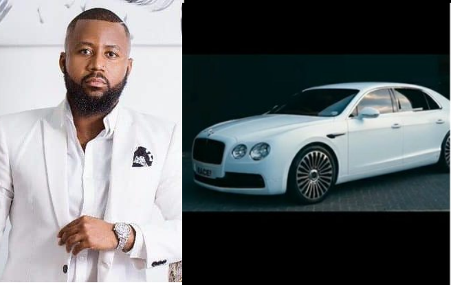 South African rapper, Cassper Nyovest buys himself a Bentley for his 30th birthday (Video)