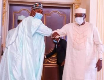 Governor Zulum meets Chad?s President over refugees in the country