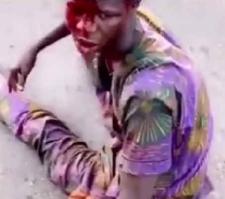 Mob sets suspected robber ablaze in Ibadan for allegedly snatching Android phone