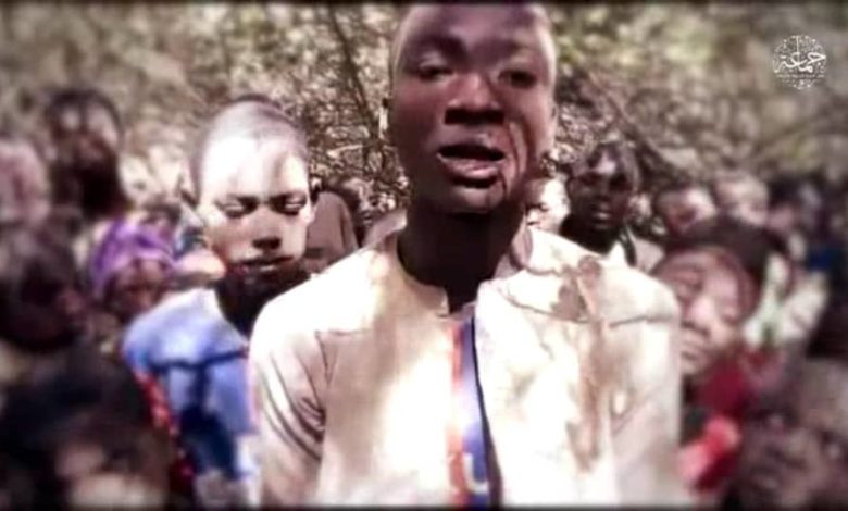 Watch: Boko Haram releases video of abducted Kankara students