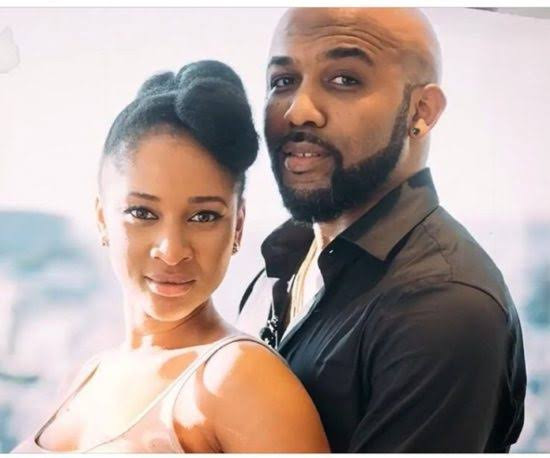 """You are my passion"" Banky W and Adesua get playful on Instagram"
