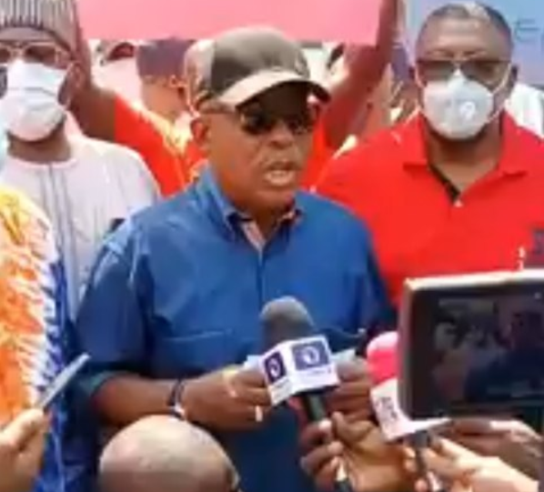 PDP hold #Bringbackourboys protest in Abuja (video)