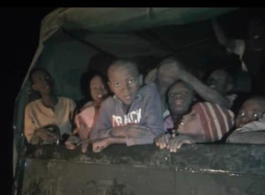 Watch: Kankara school boys celebrate their release from abductors (video)