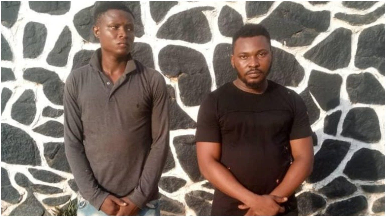 Two arrested for gang-raping and filming 19-year-old girl in Ogun state