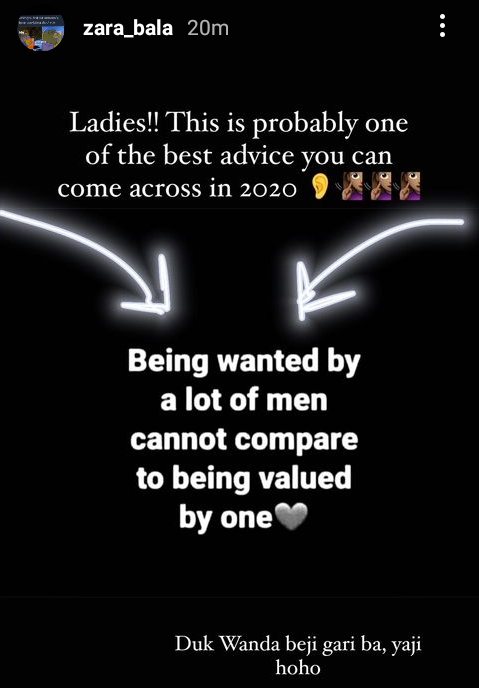 """""""Being wanted by a lot of men cannot be compared to being valued by one"""" - Bauchi Governor"""
