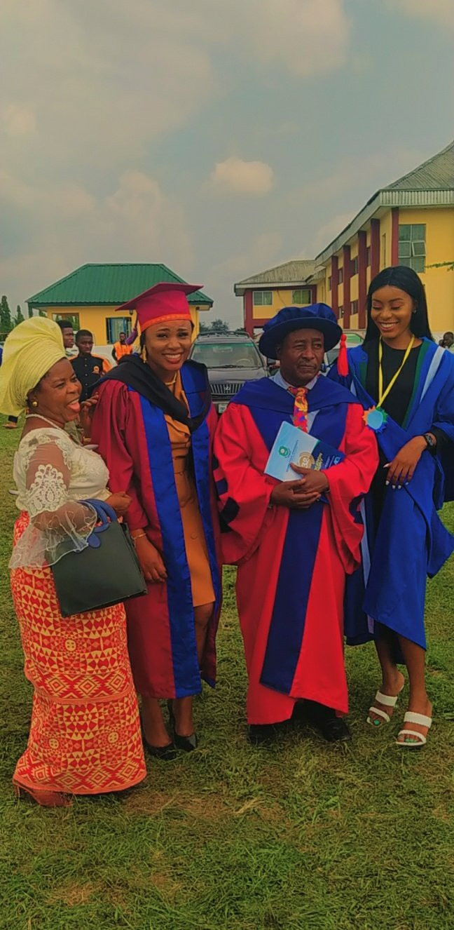 Man and his two daughters have their convocation ceremony on the same day