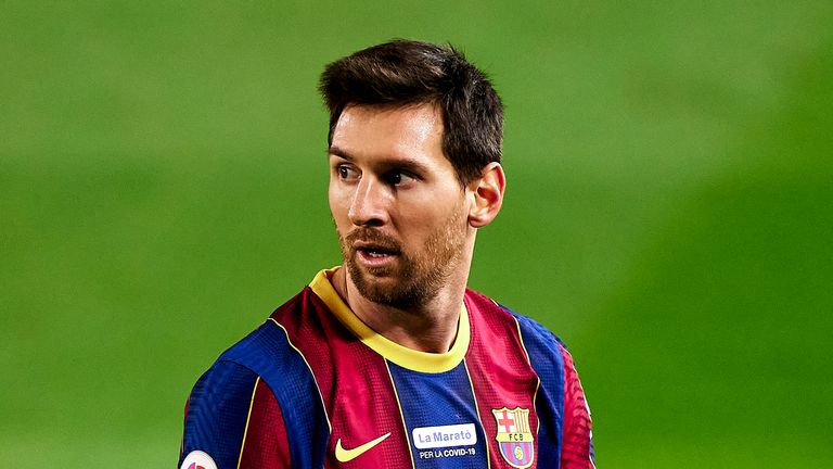 Lionel Messi says Barcelon exit saga affected his form at start of La Liga Season