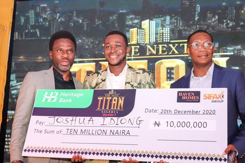 Joshua Idiong Emerges the Winner of Season 7 of The Next Titan Nigeria, Walks off With N10 Million Naira