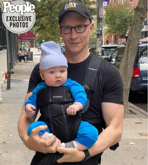 """I wish I had it sooner"" Anderson Cooper talks about being a dad and says it"